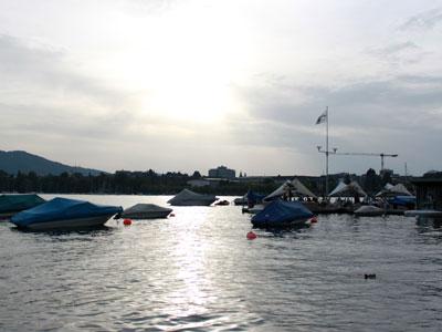 A boat trip on Lake Zurich